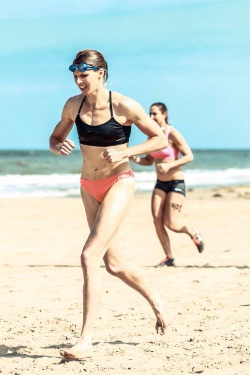 superfit door crossfit, mindset, beach throwdown