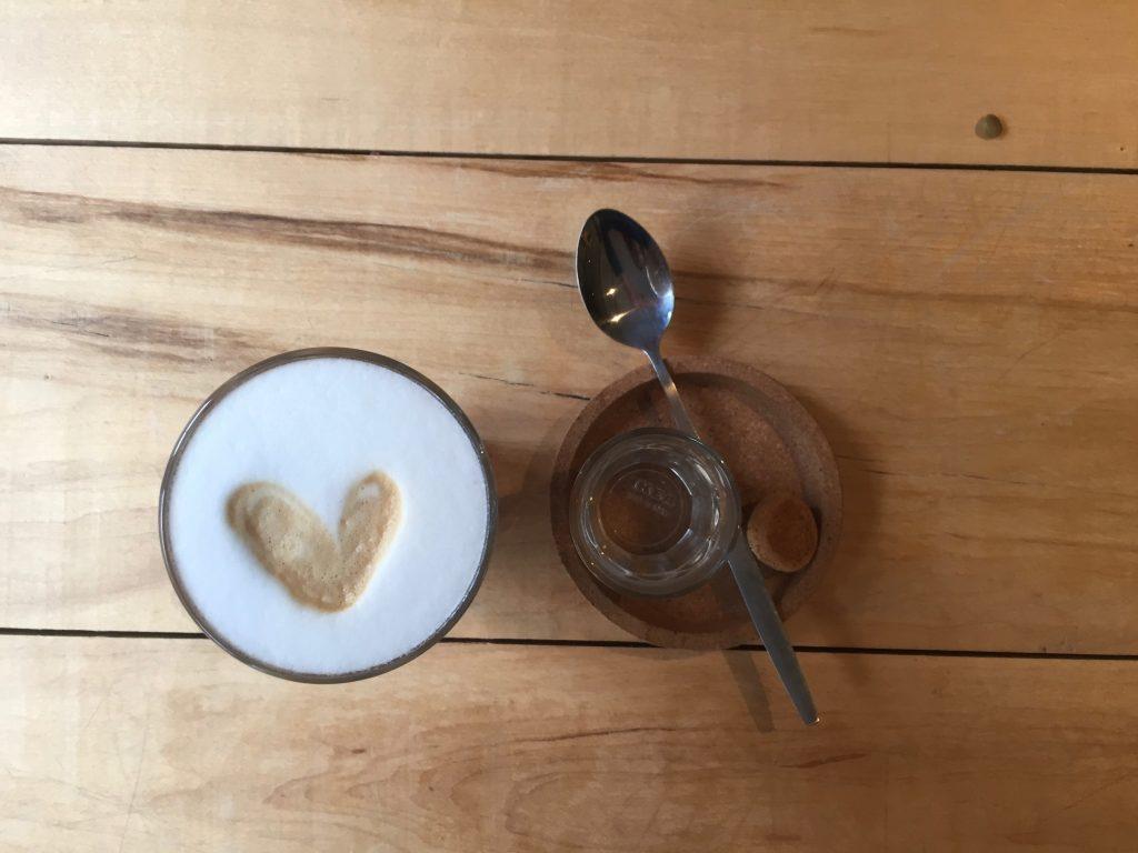 cappuccino, ontspanmomentje voor jezelf.