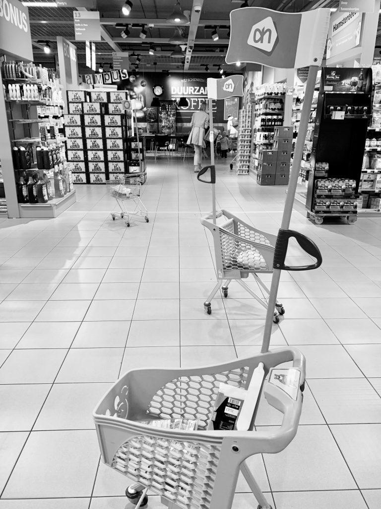 winkelen met drieling
